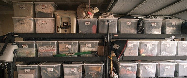 storing clothes to deter moths